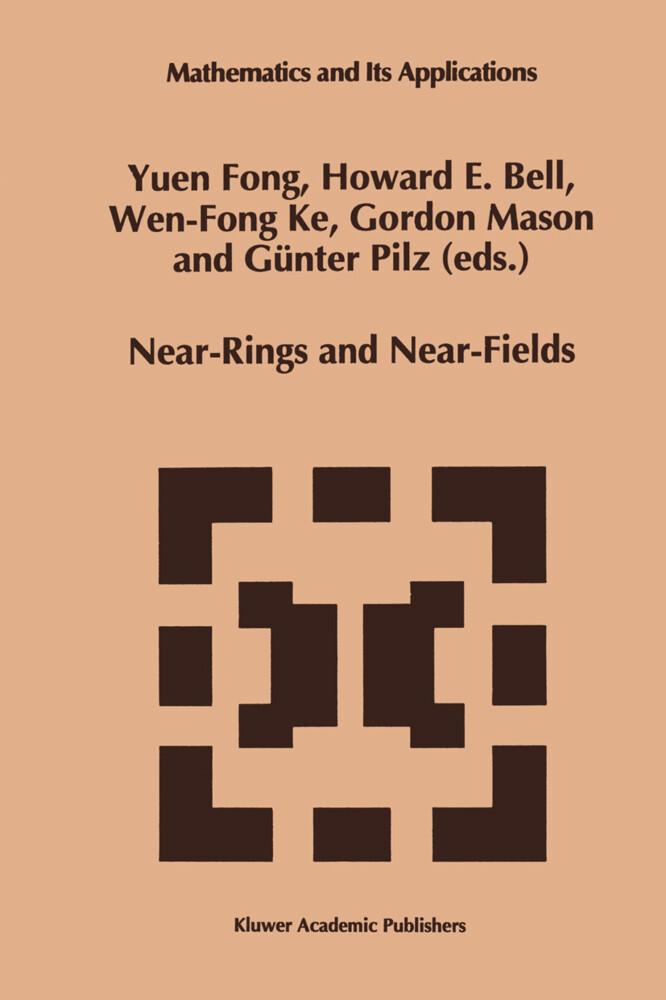 Near-Rings and Near-Fields als Buch
