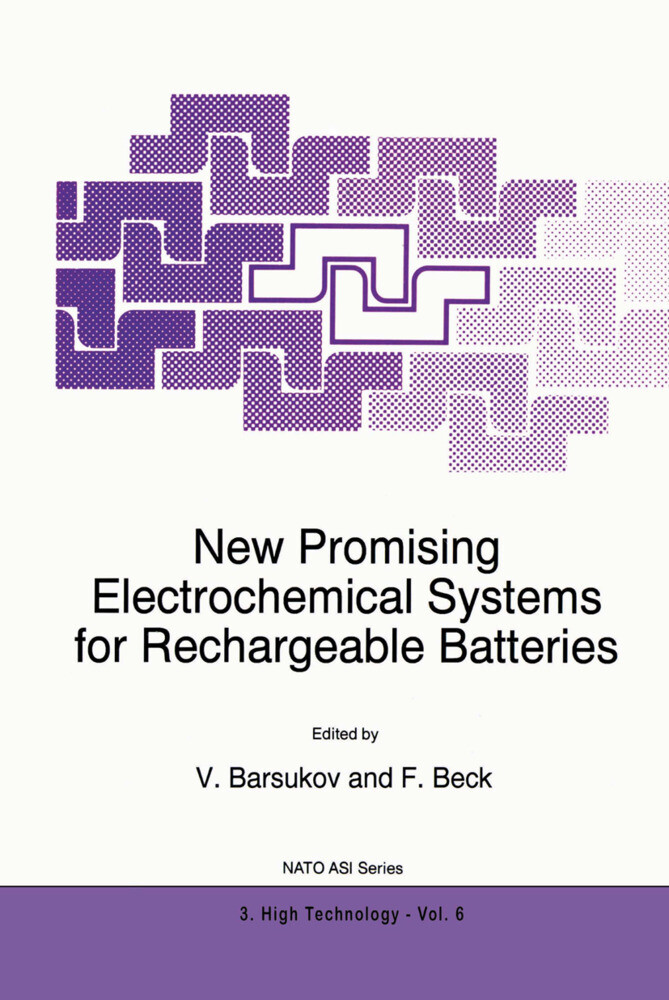 New Promising Electrochemical Systems for Rechargeable Batteries als Buch