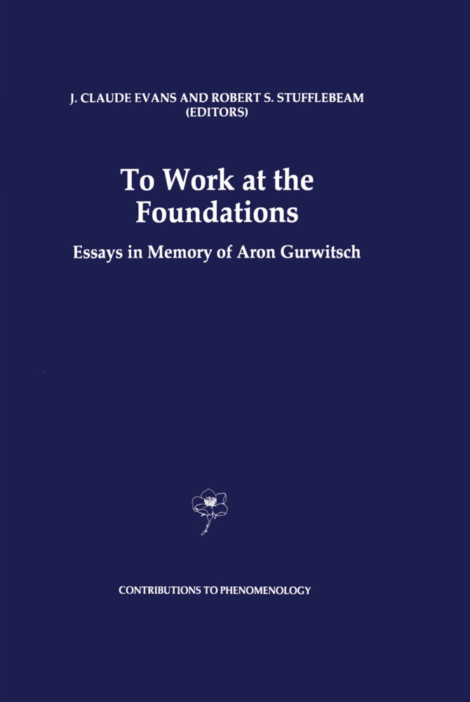 To Work at the Foundations als Buch