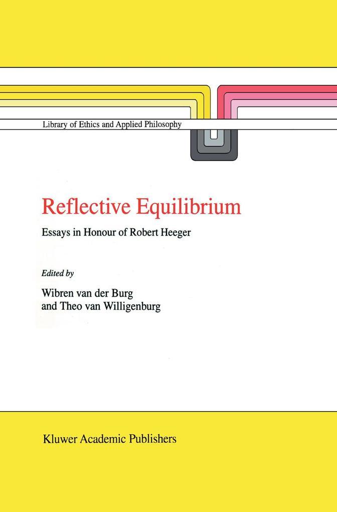 Reflective Equilibrium als Buch