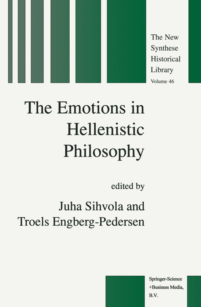 The Emotions in Hellenistic Philosophy als Buch