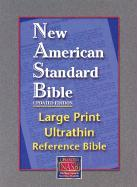 Large Print Ultrathin Reference Bible-NASB [With Velvet Book Holder] als Buch