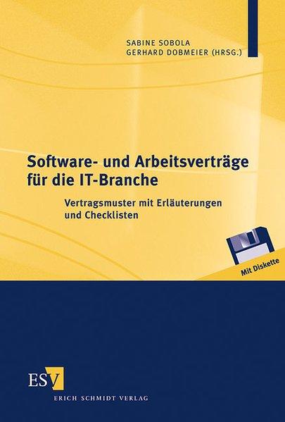 Software- und Arbeitsverträge für die IT-Branche als Buch