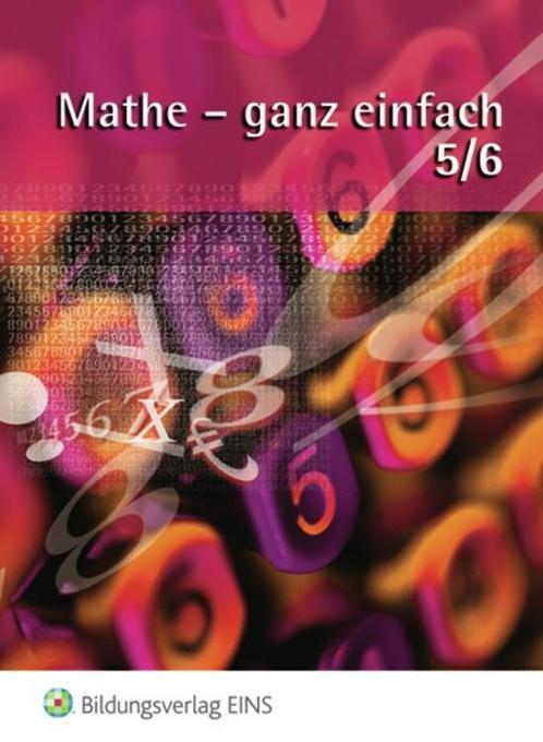 Mathe - ganz einfach 5/6. Schülerbuch als Buch