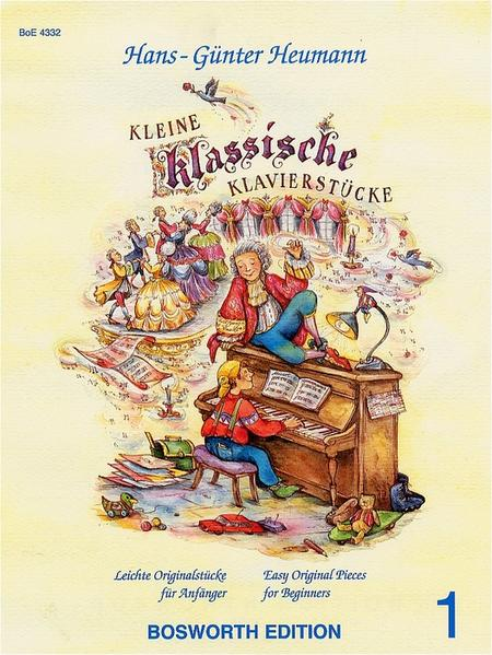 Kleine klassische Klavierstücke 1 als Buch