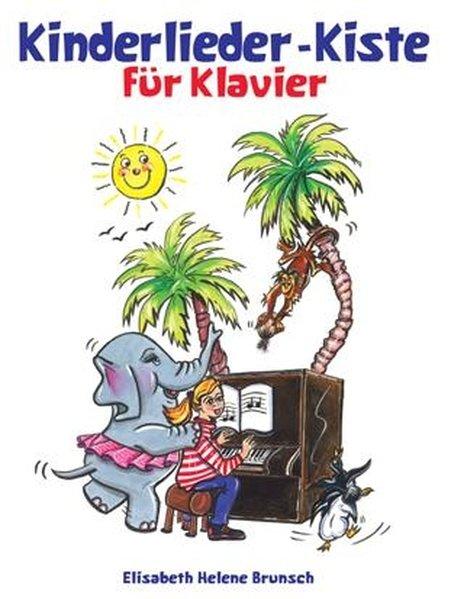 Kinderliederkiste für Klavier als Buch