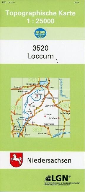 Loccum 1 : 25 000. (TK 3520/N) als Buch