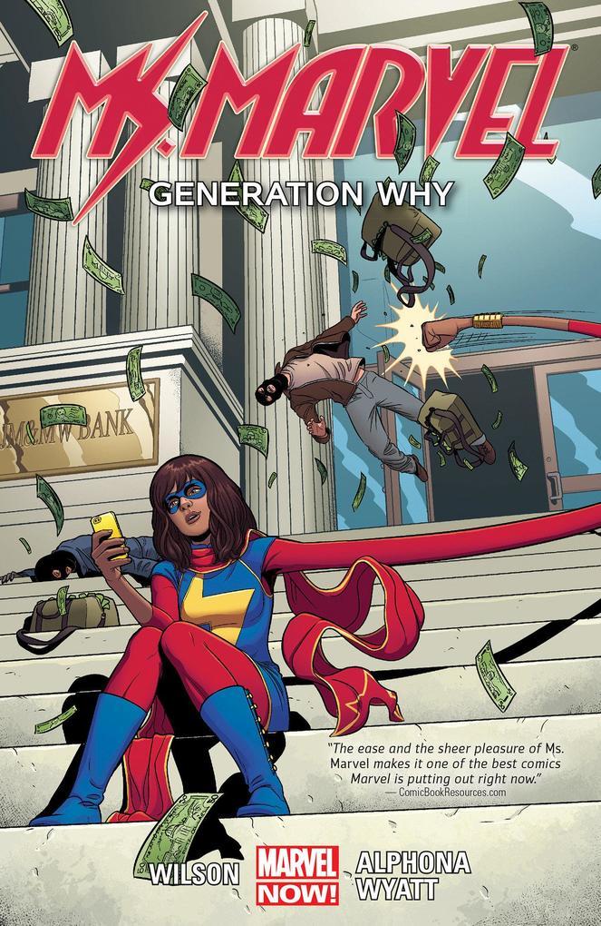 Ms. Marvel Volume 02: Generation Why als Buch von G. Willow Wilson