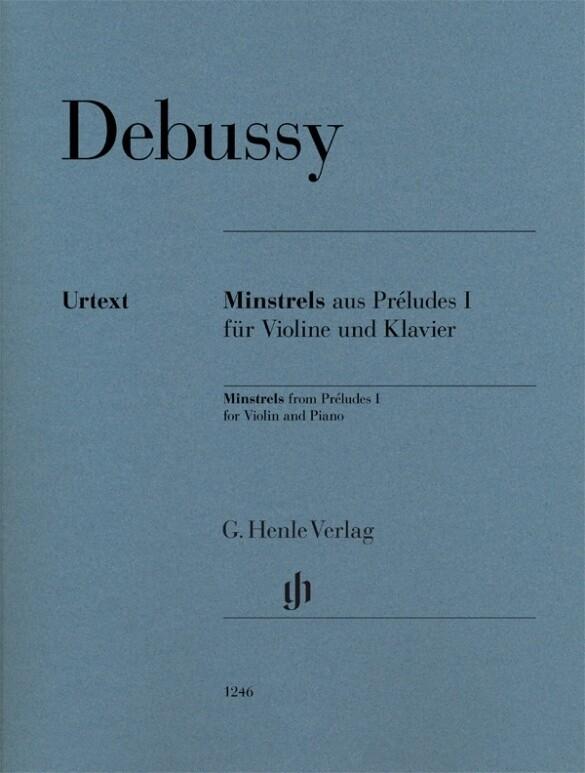 Minstrels aus Préludes I für Violine und Klavier als Buch von Claude Debussy