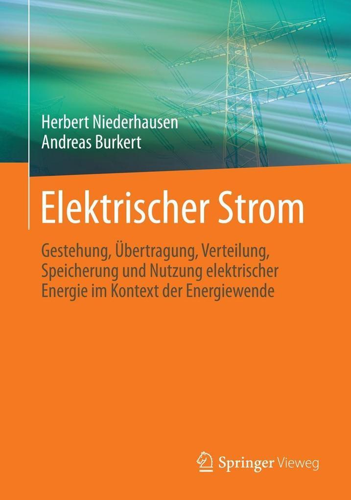 9783834824936 - Elektrischer Strom - Herbert Niederhausen; Andreas ...