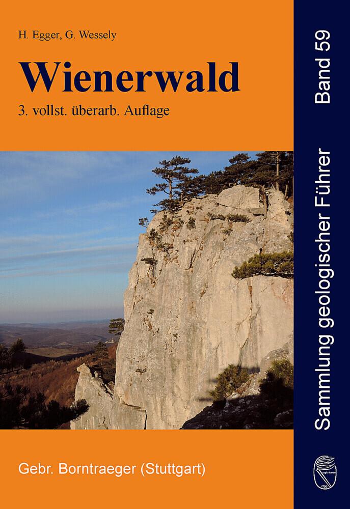 Wienerwald als Buch von Hans Egger, Godfrid Wessely