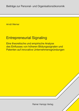 Entrepreneurial Signaling
