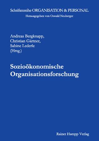 Sozioökonomische Organisationsforschung