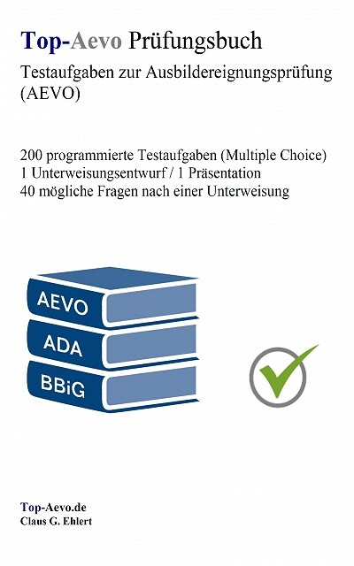 Top-Aevo Prüfungsbuch als eBook von Claus G. Ehlert