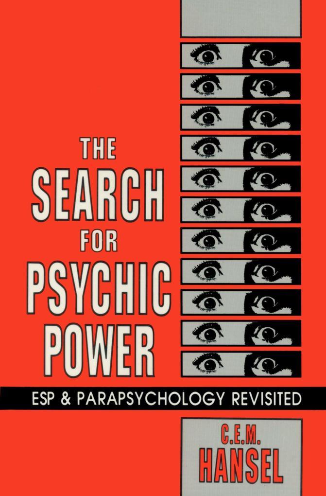 The Search for Psychic Power als Taschenbuch