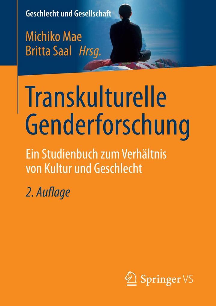 Transkulturelle Genderforschung als eBook von