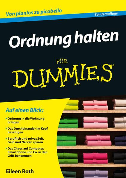 Ordnung halten für Dummies als Buch