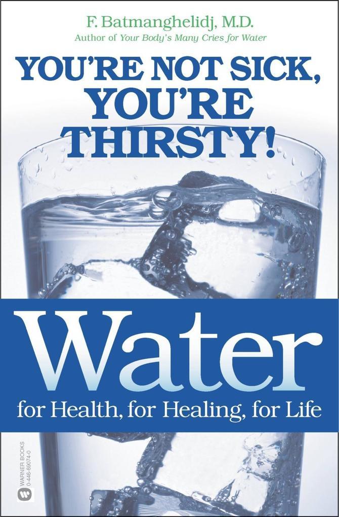 Water for Health, for Healing, for Life als eBook von F. Batmanghelidj