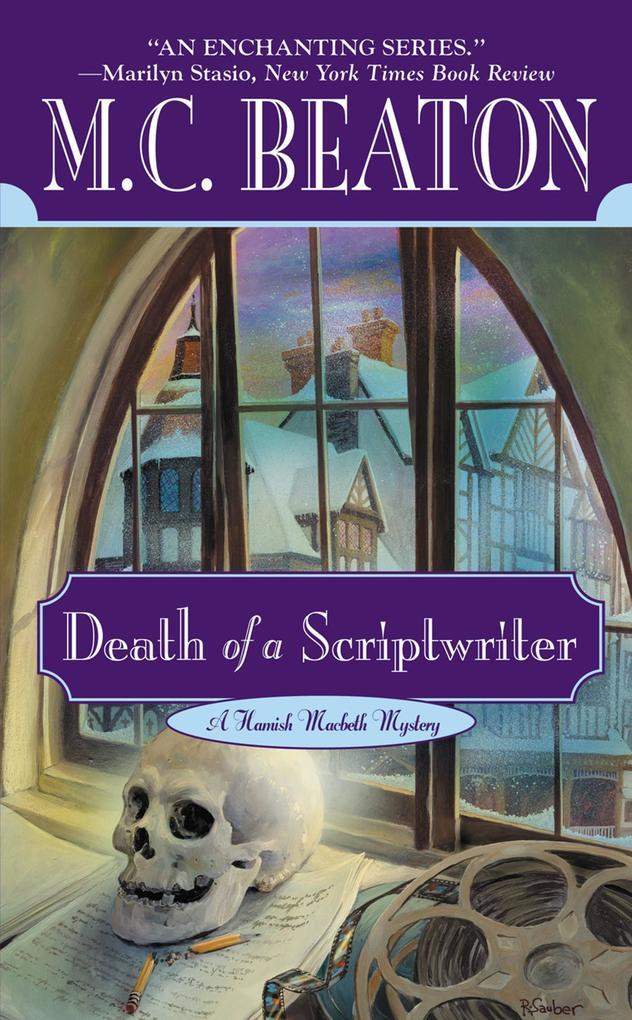 Death of a Scriptwriter als eBook von M. C. Beaton