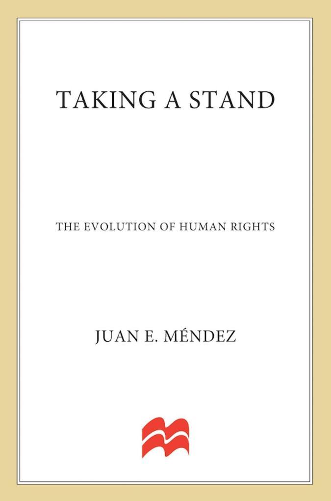 Taking a Stand als eBook von Juan E. Méndez, Marjory Wentworth