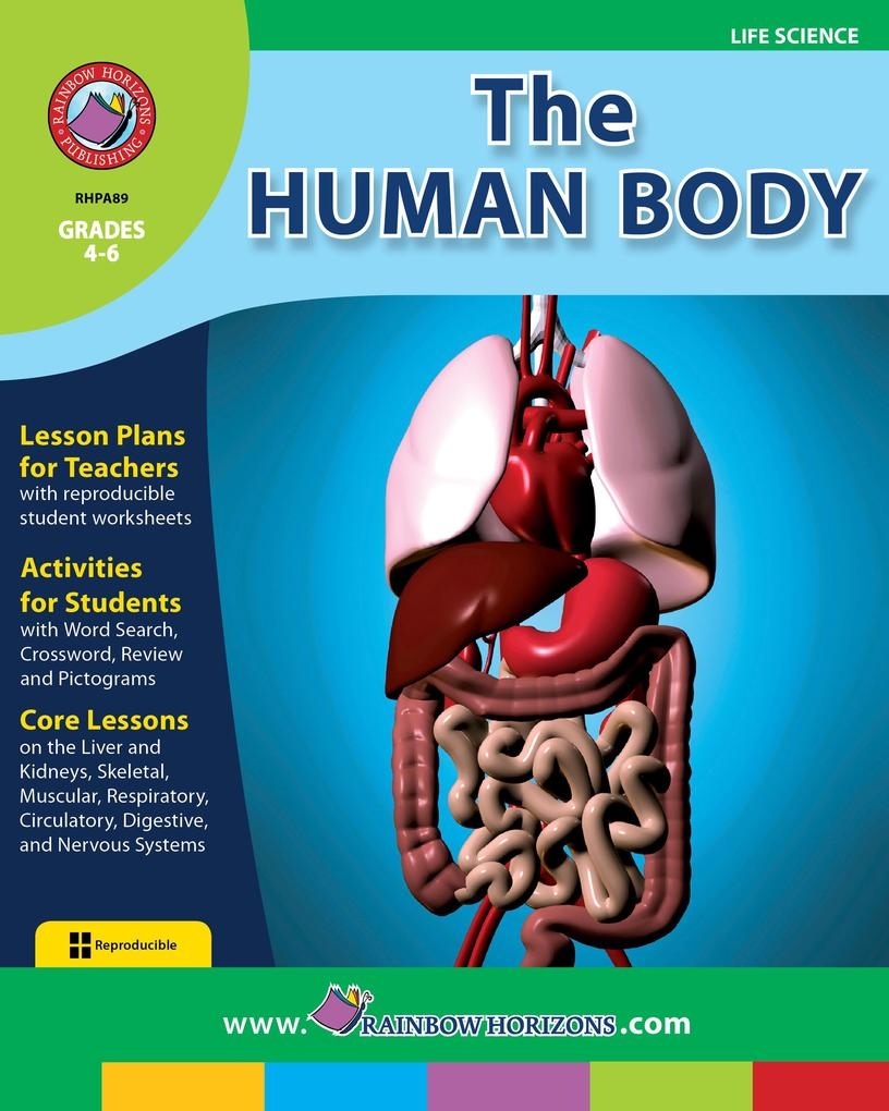 The Human Body als eBook von Mike Edie & Karen Vogel