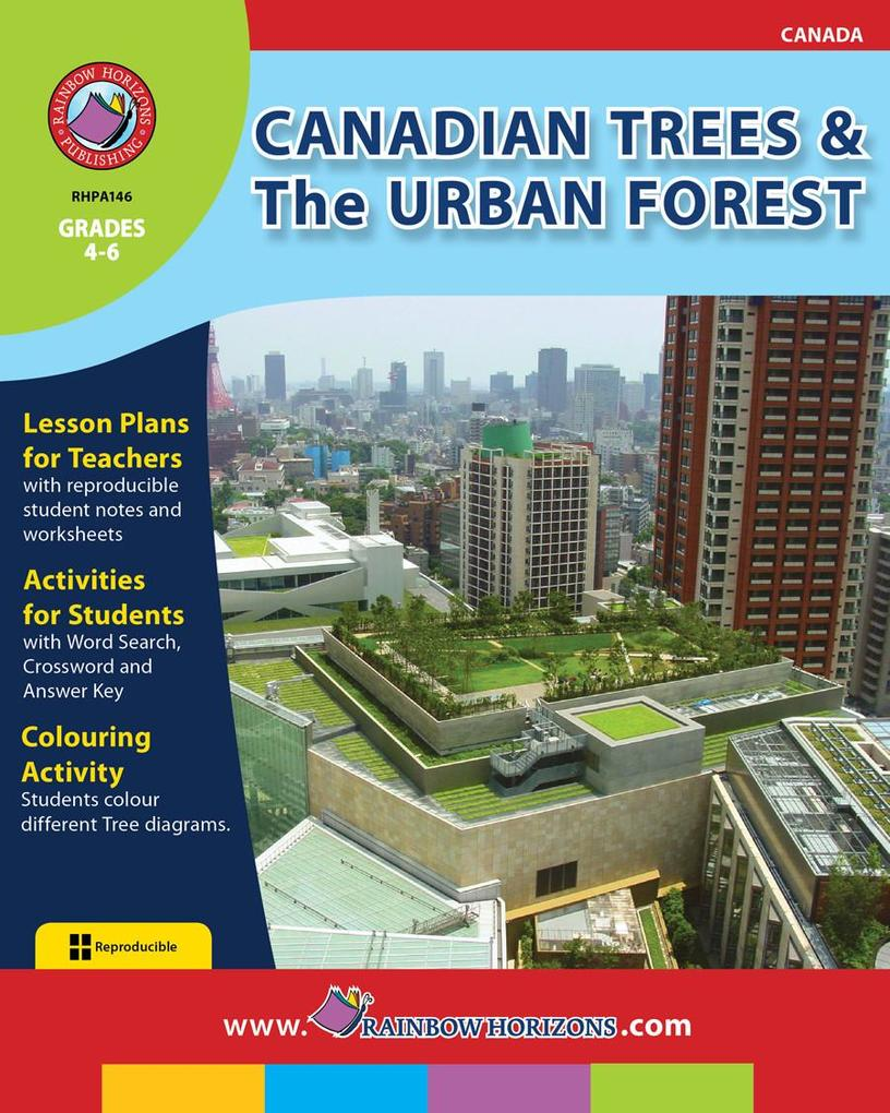 Canadian Trees & The Urban Forest als eBook von Keith Anderson & Doug Sylvester
