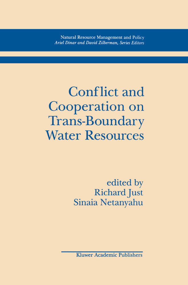 Conflict and Cooperation on Trans-Boundary Water Resources als Buch