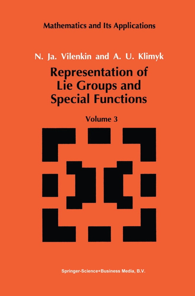 Representation of Lie Groups and Special Functions als Buch