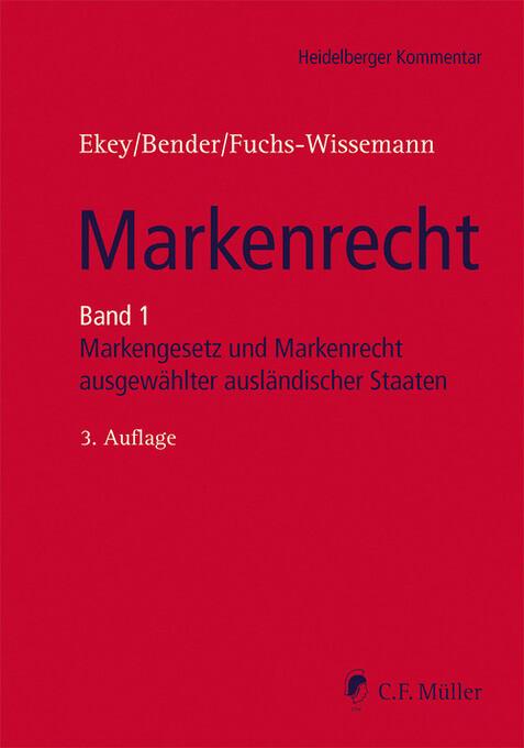 Markenrecht als eBook