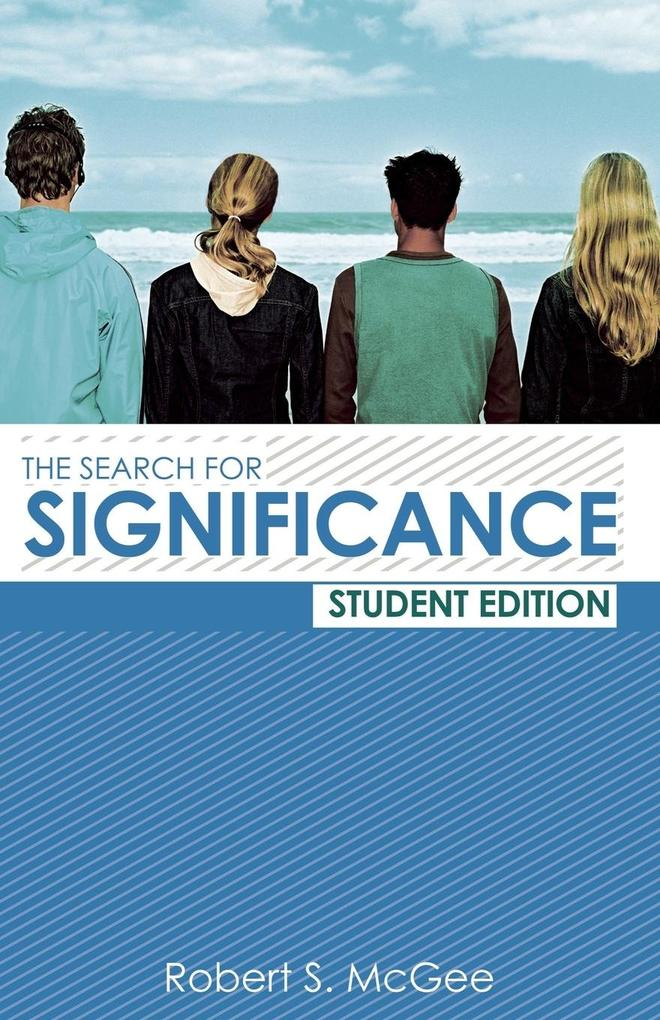 The Search for Significance Student Edition als Taschenbuch