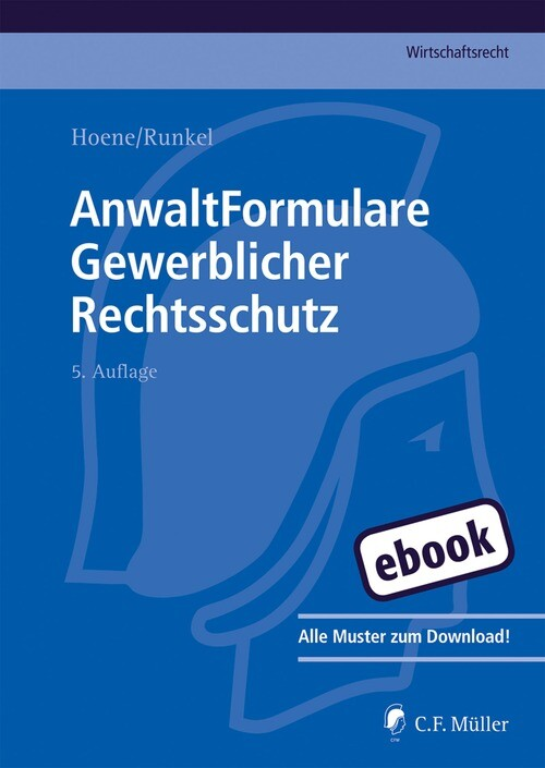 AnwaltFormulare Gewerblicher Rechtsschutz als eBook