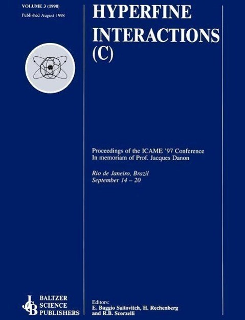 Proceedings of the ICAME '97 Conference: In Memoriam of Professor Jacques Danon als Buch