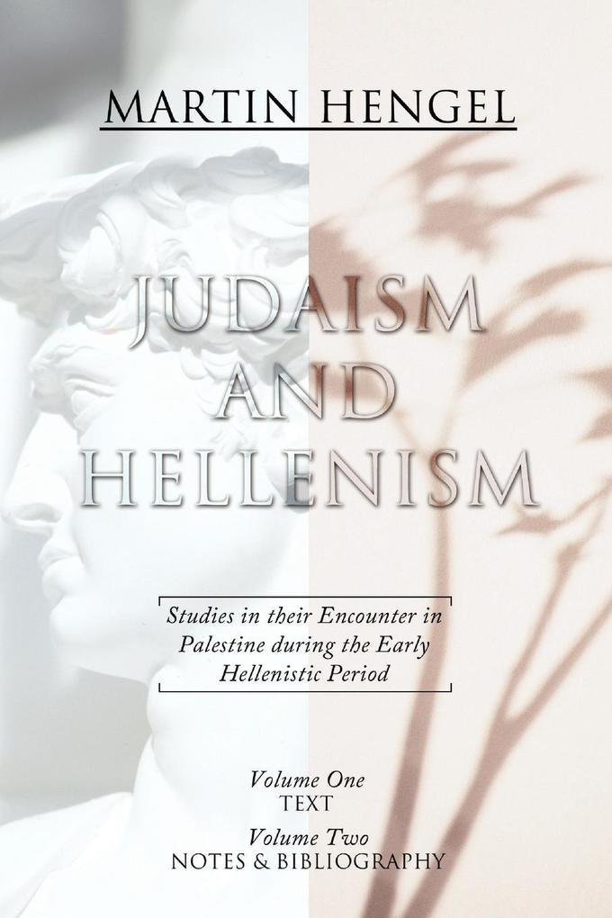 Judaism and Hellenism als Taschenbuch