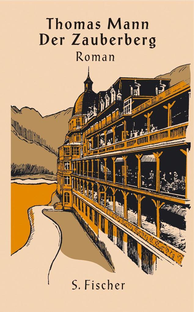 Der Zauberberg als Buch von Thomas Mann