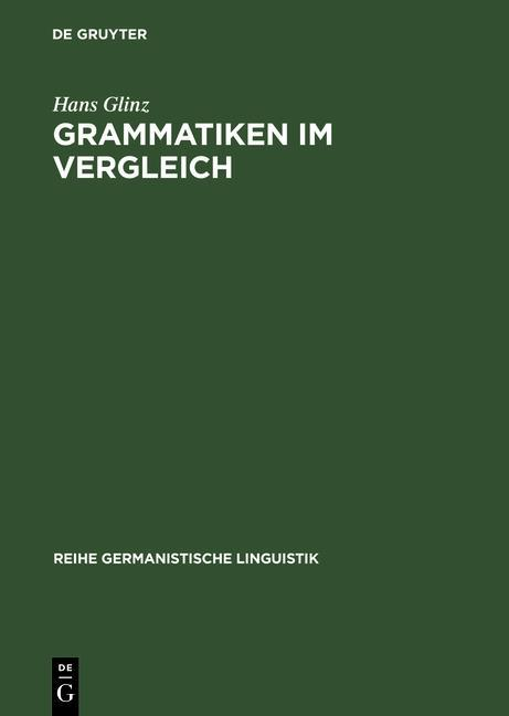 Grammatiken im Vergleich als eBook