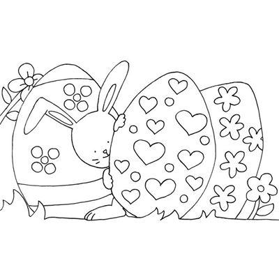 Kleines Malbuch Ostern. Küken, Hase, Osternest (Buch)