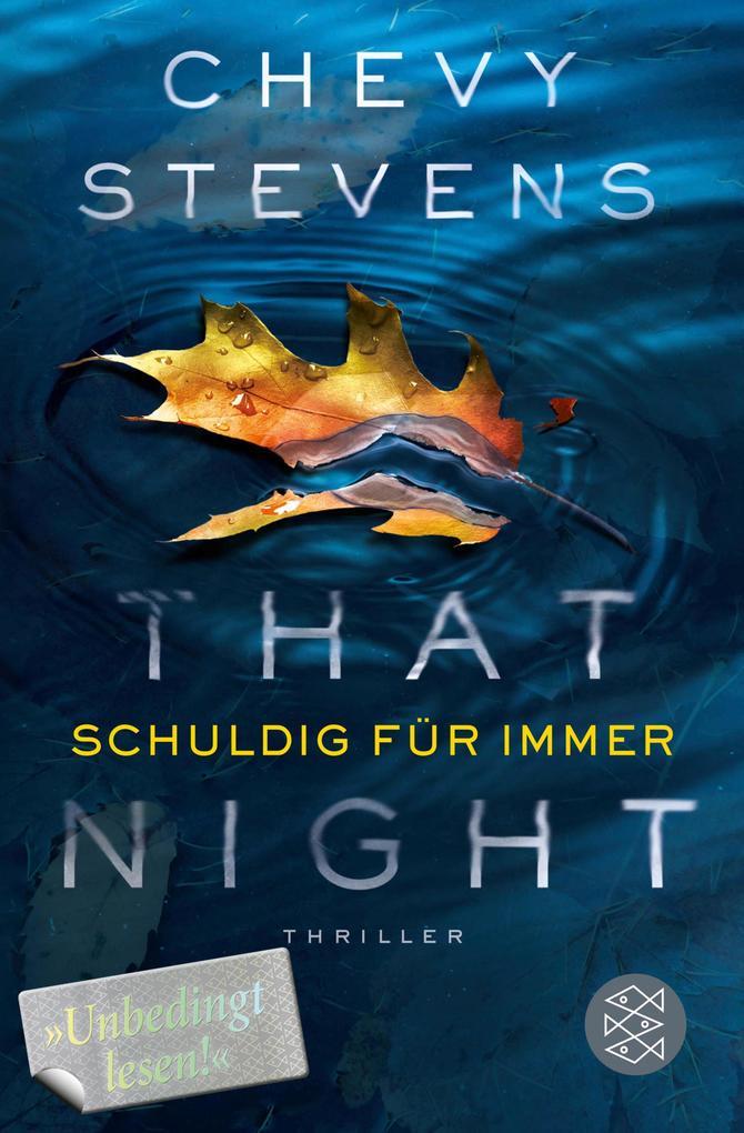 That Night - Schuldig für immer als eBook