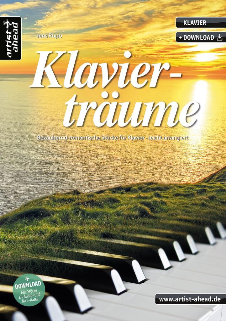 Klavierträume als Buch (geheftet)