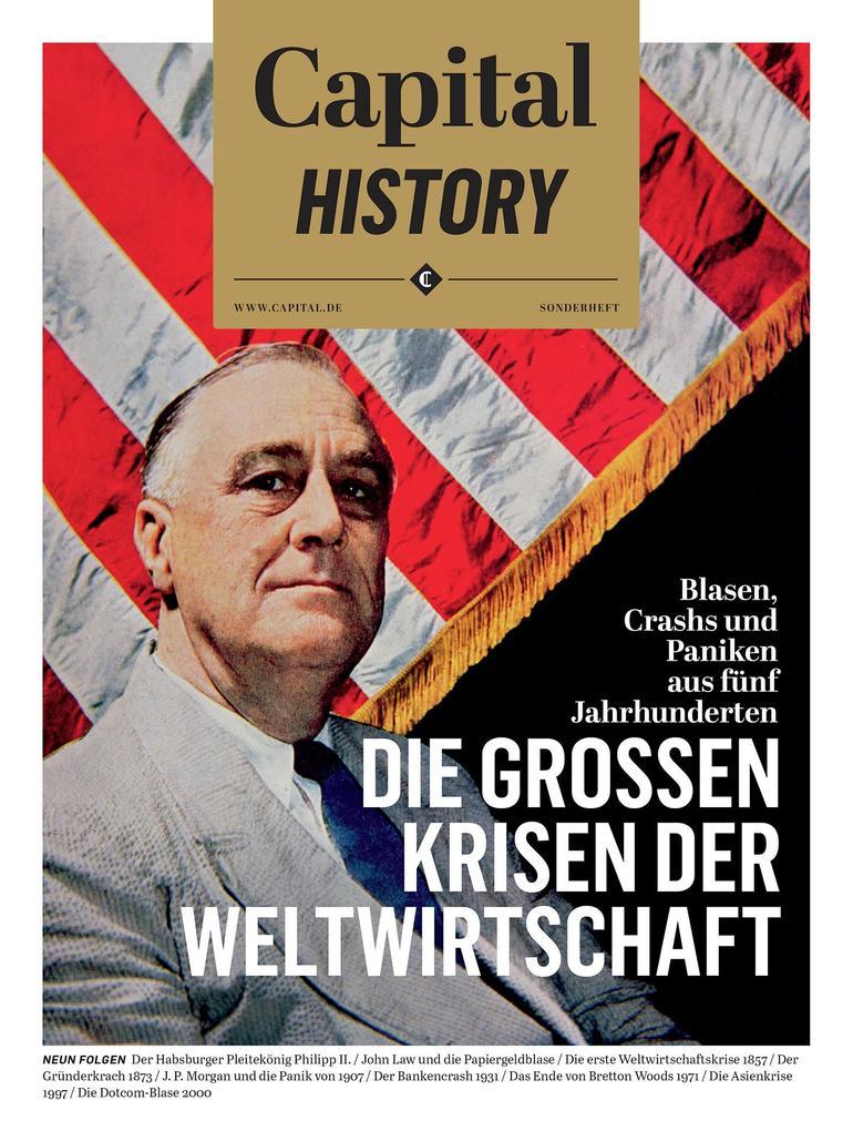 Capital History: Die großen Krisen der Weltwirtschaft als eBook