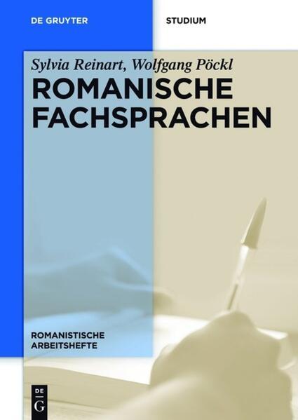 Romanische Fachsprachen als Taschenbuch