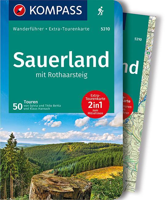 Sauerland mit Rothaarsteig als Buch