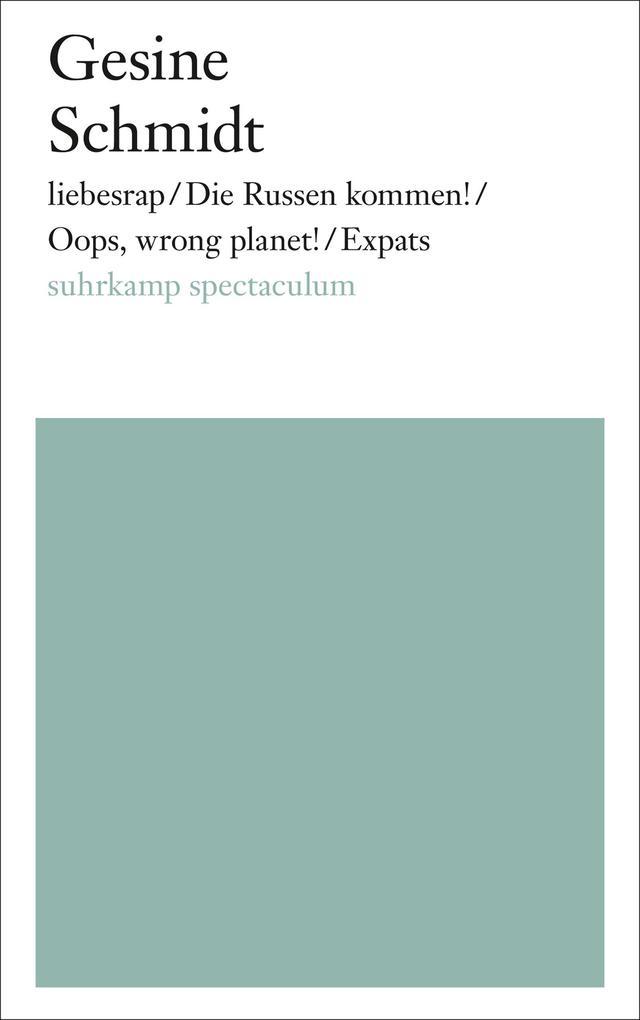 liebesrap / Oops, wrong planet! / Expats / Bier, Blut und Bundesbrüder als eBook epub