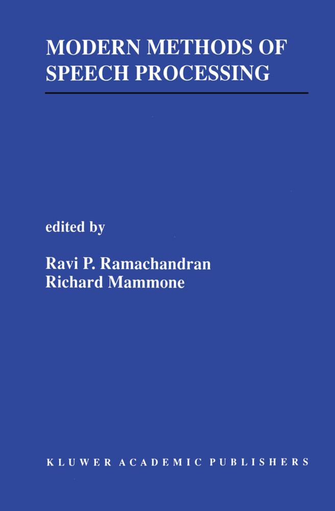 Modern Methods of Speech Processing als Buch