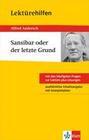 """Klett Lektürehilfen Alfred Andersch """"Sansibar oder der letzte Grund"""""""