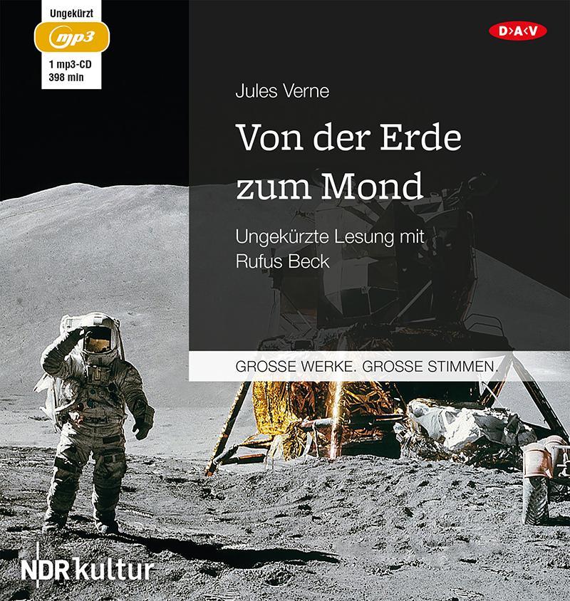 Von der Erde zum Mond als Hörbuch