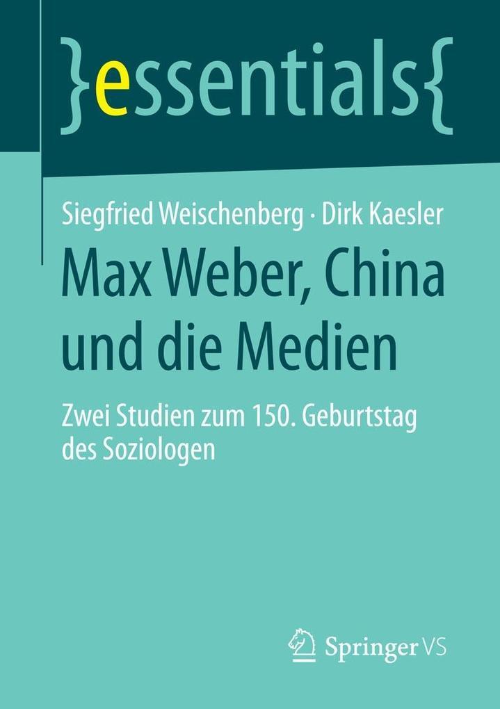 Max Weber, China und die Medien als eBook