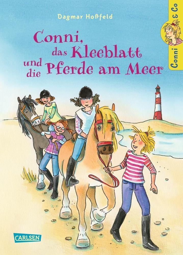 Conni & Co 11: Conni, das Kleeblatt und die Pferde am Meer als Buch