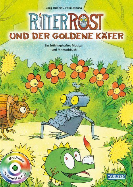 Ritter Rost: Ritter Rost und der goldene Käfer als Buch