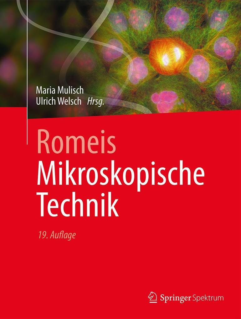 Romeis - Mikroskopische Technik als Buch