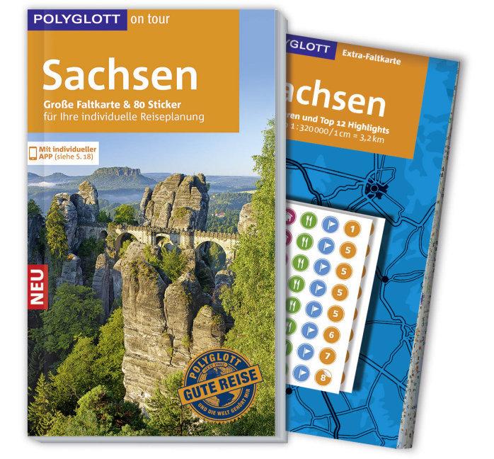 POLYGLOTT on tour Reiseführer Sachsen